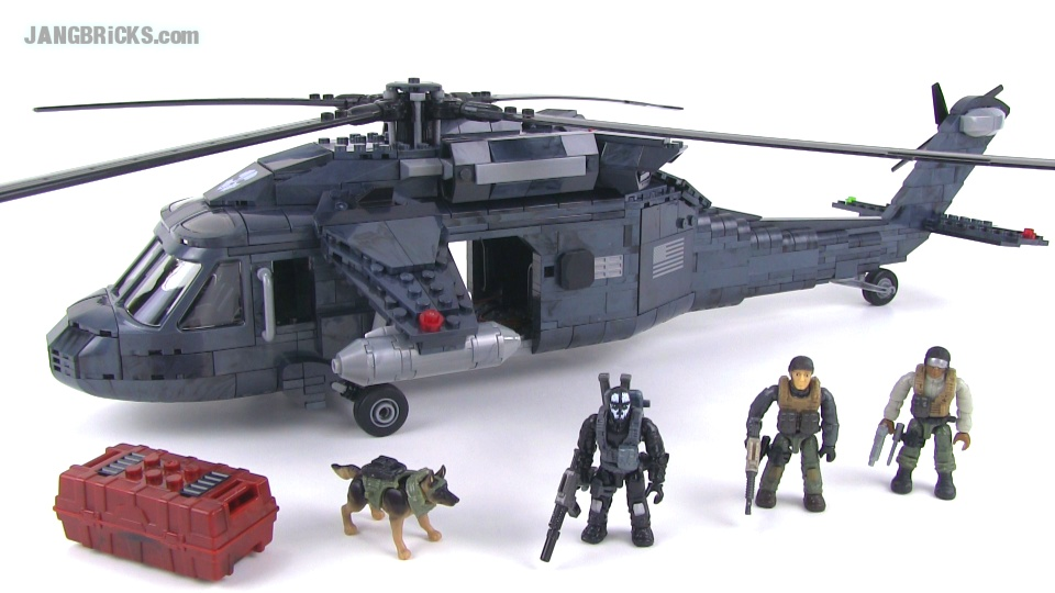 Mega Bloks Call Of Duty 06858 Ghosts Helicopter Reviewed