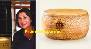 Logo Concorso #TuComeLoUsi : vinci gratis 12 puntate con Roberta Schira e forma Grana Padano DOP