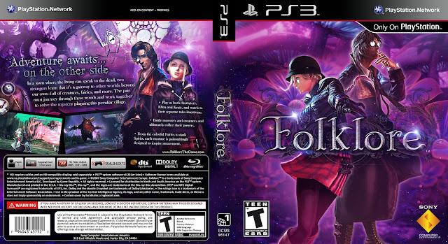 Capa Folklore PS3