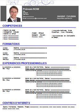 Modèles De Cv Et Exemples De Curriculum Vitae à Télécharger