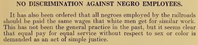 The U.S. government recommended paying black men the same wages as white men...in 1918!