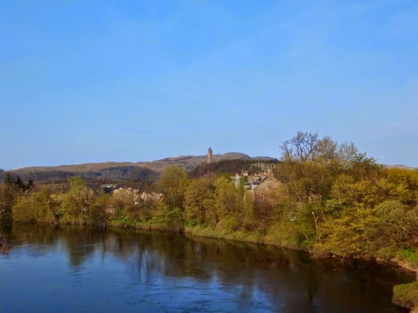 Stirling écosse scotland forth river wallace monument