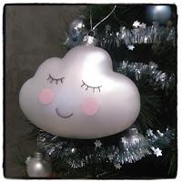 boule de Noël nuage