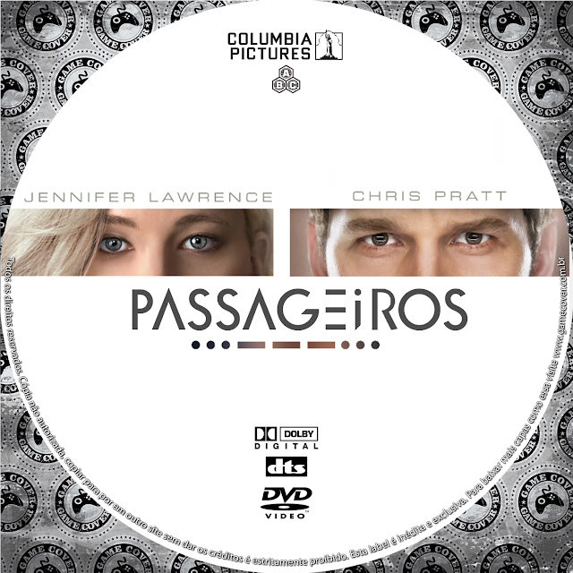 Label DVD Passageiros [Exclusiva]