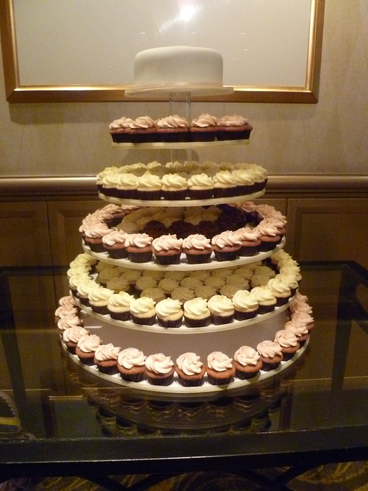 Sift Oodles of cupcake towers