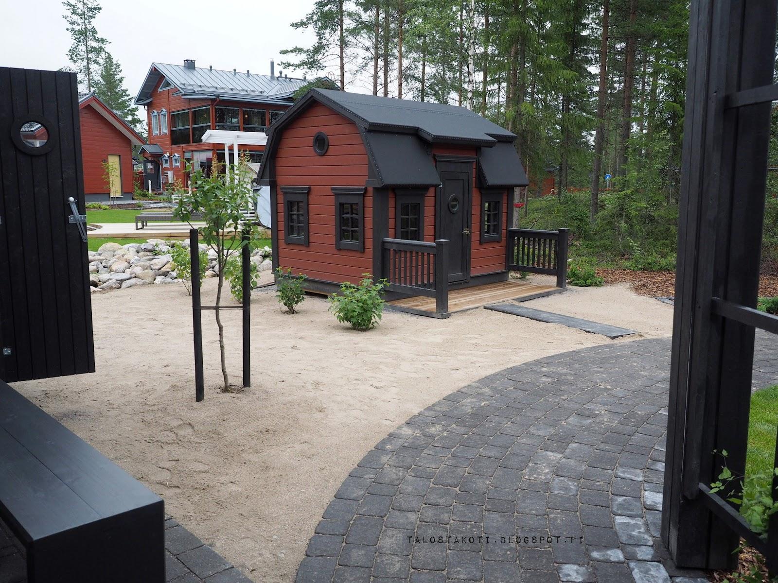 Asuntomessut 2016 Kannustalo Pohjanmaa piha