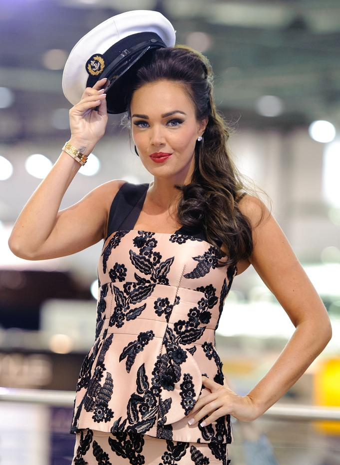 Tamara Ecclestone launches the London Boat Show 2012