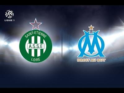 Saint Etienne  vs Olympique de Marseille سانتيتيان اولمبيك مارسيليا