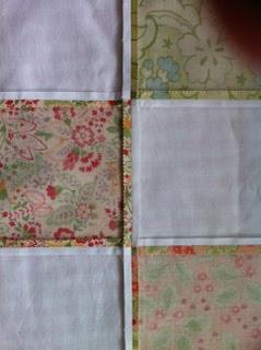 Opengestreken naden patchwork