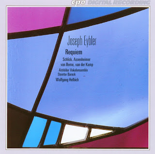 Única grabación existente del Requiem en do menor de Eybler a cargo de Wolfgang Helbich (2004) en el sello CPO.