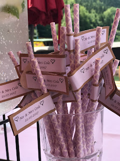 personalized paper straws, Wedding abroad, Mountain wedding lake-side at the Riessersee Hotel Resort Bavaria, Germany, Garmisch-Partenkirchen