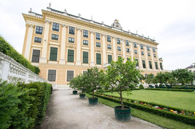 Kronprinzergarten-Castello di Schönbrunn-Vienna