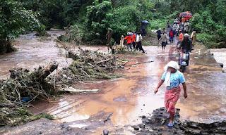 Dusun Batu Sele Masih Terisolir Akibat Banjir