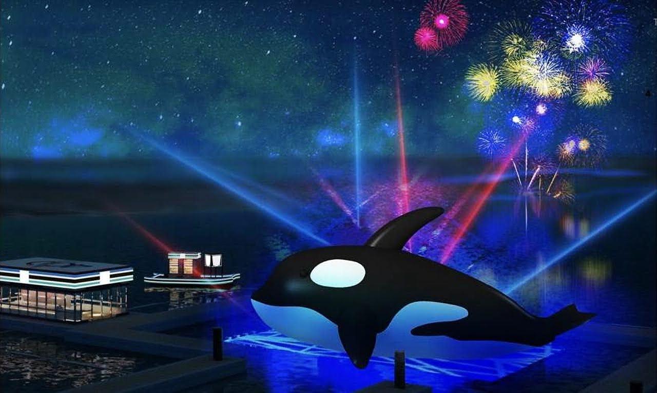 全球最大呆萌虎鯨完成檢疫 號召7/11千人伴游進入安平水景公園 7/15正式亮相 展出時間全攻略