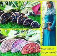souvenir dompet batik kiso set 5