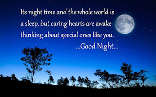 A Very heart Touching Good Night Quotes with wallpaper for Lovers