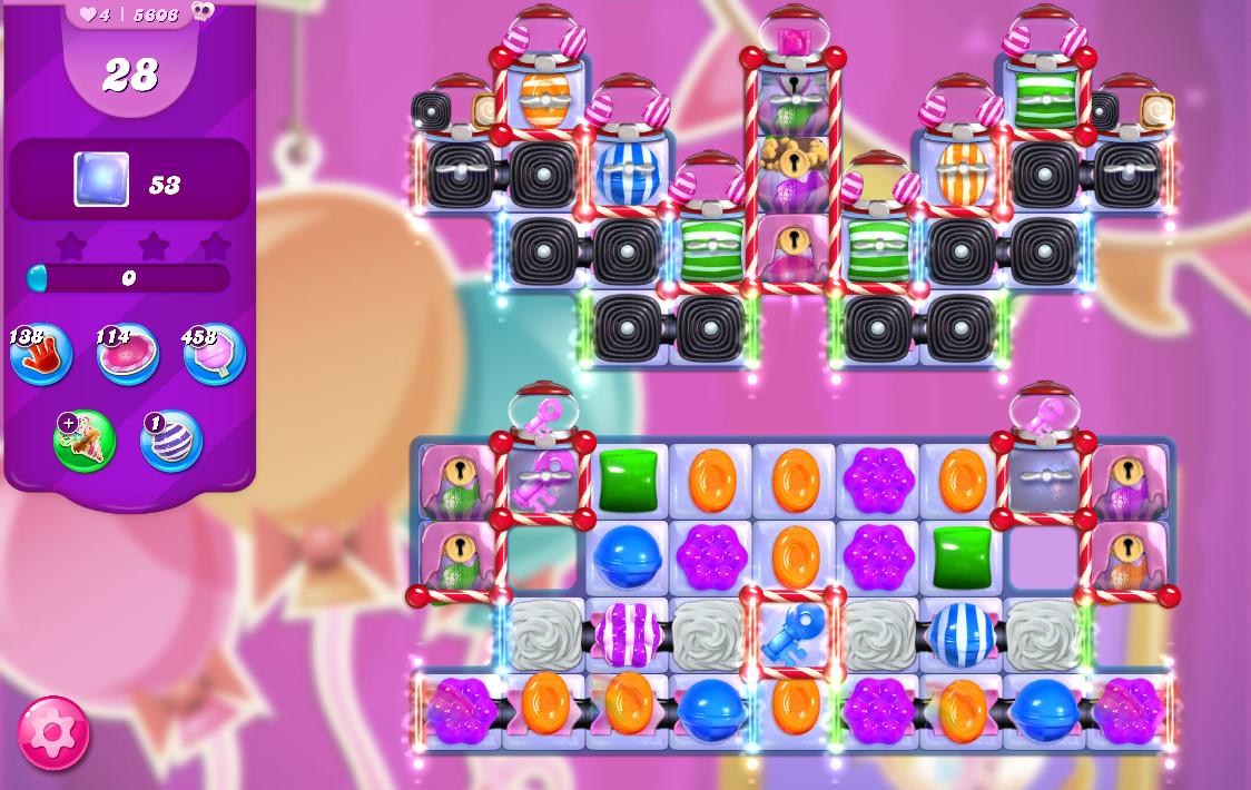 Candy Crush Saga level 5606