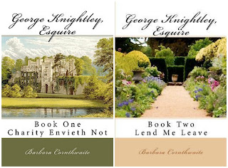 Book Covers: George Knightley Esquire series by Barbara Cornthwaite