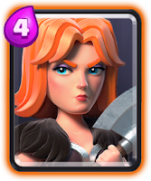 Carta Valquíria de Clash Royale - Cards Wiki