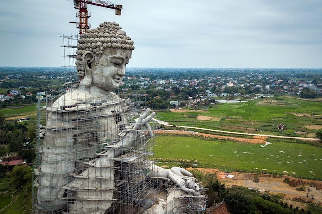 Southeast Asia's largest Buddha statue in Hanoi to be completed soon