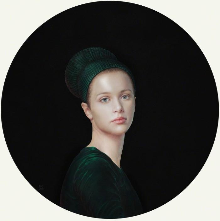 Итальянский художник. Salustiano