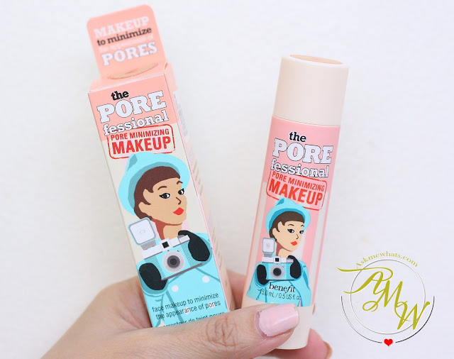 a photo of Benefit POREfessional Pore Minimizing Makeup review in shade 2.