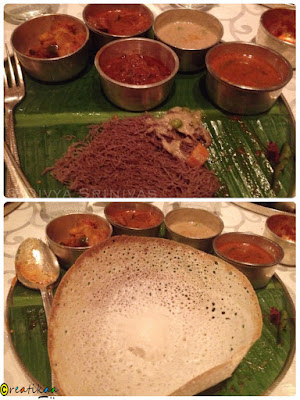 Idiappam, Aapam, Curries - beyond madras - restaurant review