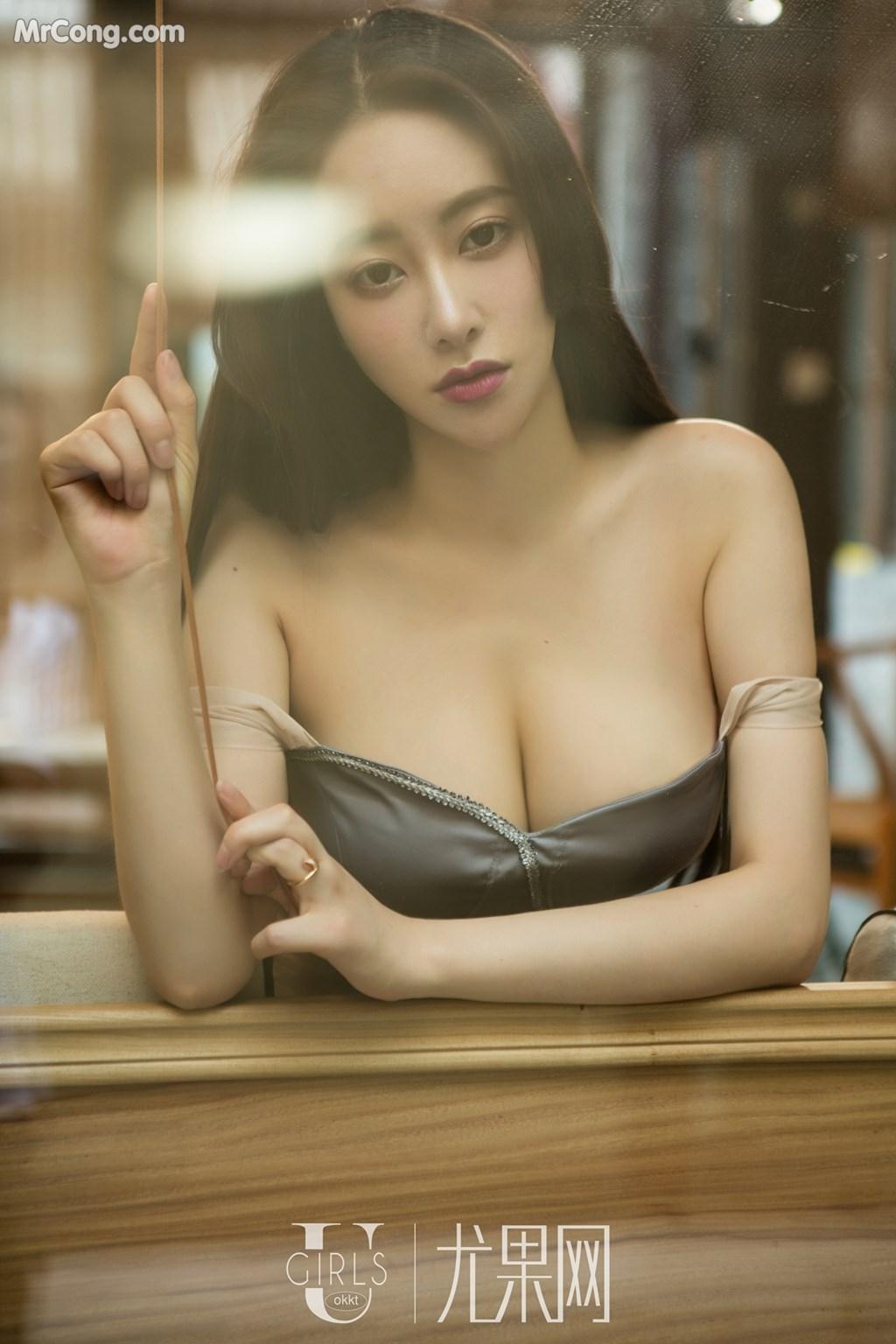 Image UGIRLS-U309-Mu-Fei-Fei-MrCong.com-013 in post UGIRLS U309: Người mẫu Mu Fei Fei (穆菲菲) (64 ảnh)