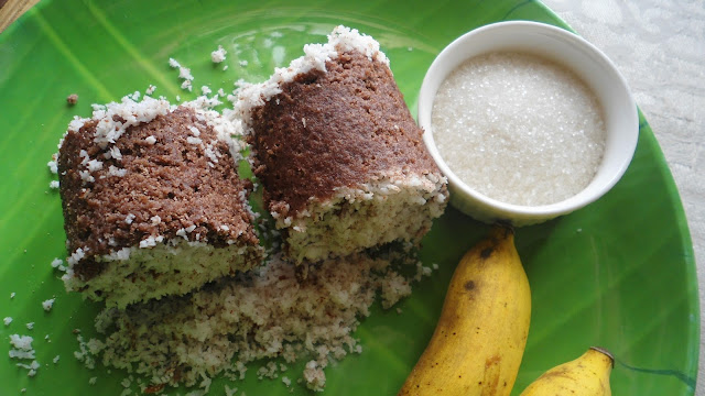 Ragi Puttu | Finger Millet Steamed cake | Millet Recipe