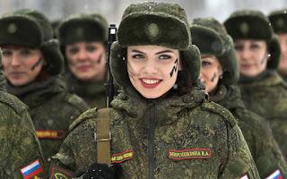 Οι γυναίκες του ρωσικού στρατού