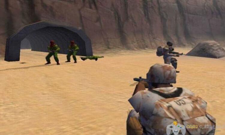 تحميل لعبة 1 Conflict Desert Storm مضغوطة من ميديا فاير