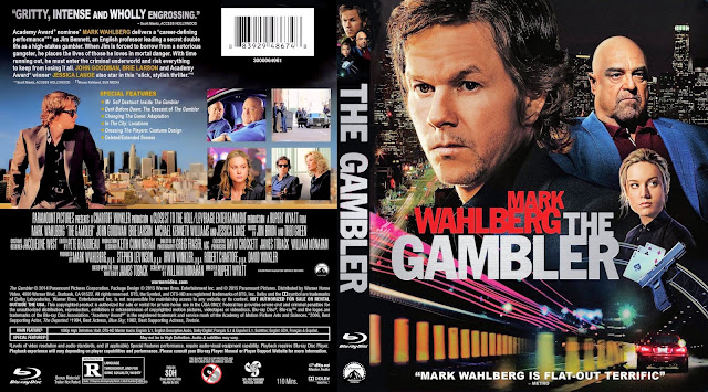 The Gambler Bluray Cover
