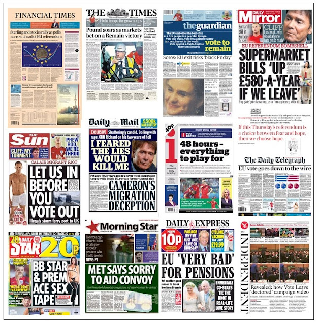 front pages 21-06-16