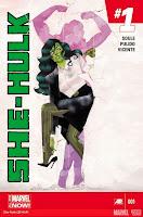 She Hulk 2014 #1 Cover