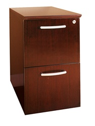 Mayline Napoli 2 Drawer File Cabinet
