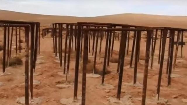 Ejército sirio halla campamento de Daesh para entrenar a niños