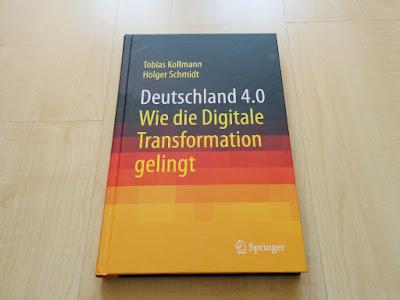 """Das Buch """"Deutschland 4.0"""" von Tobias Kollmann und Holger Schmidt"""