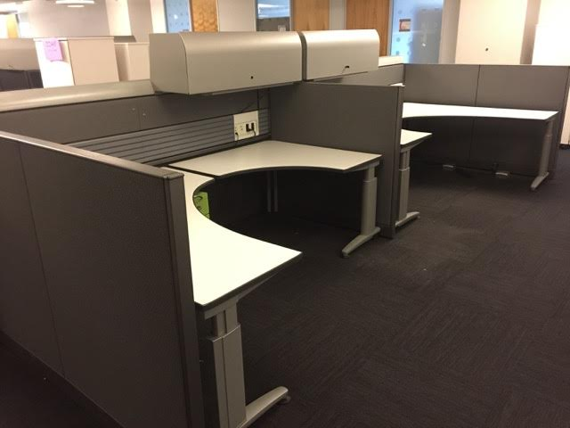 Knoll Currents Used cubicles