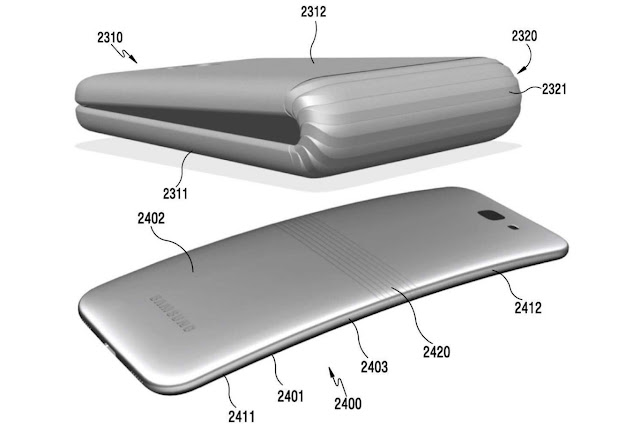 Samsung does not give up and shows us a new 'semi-automatic' mechanism for flexible smartphones