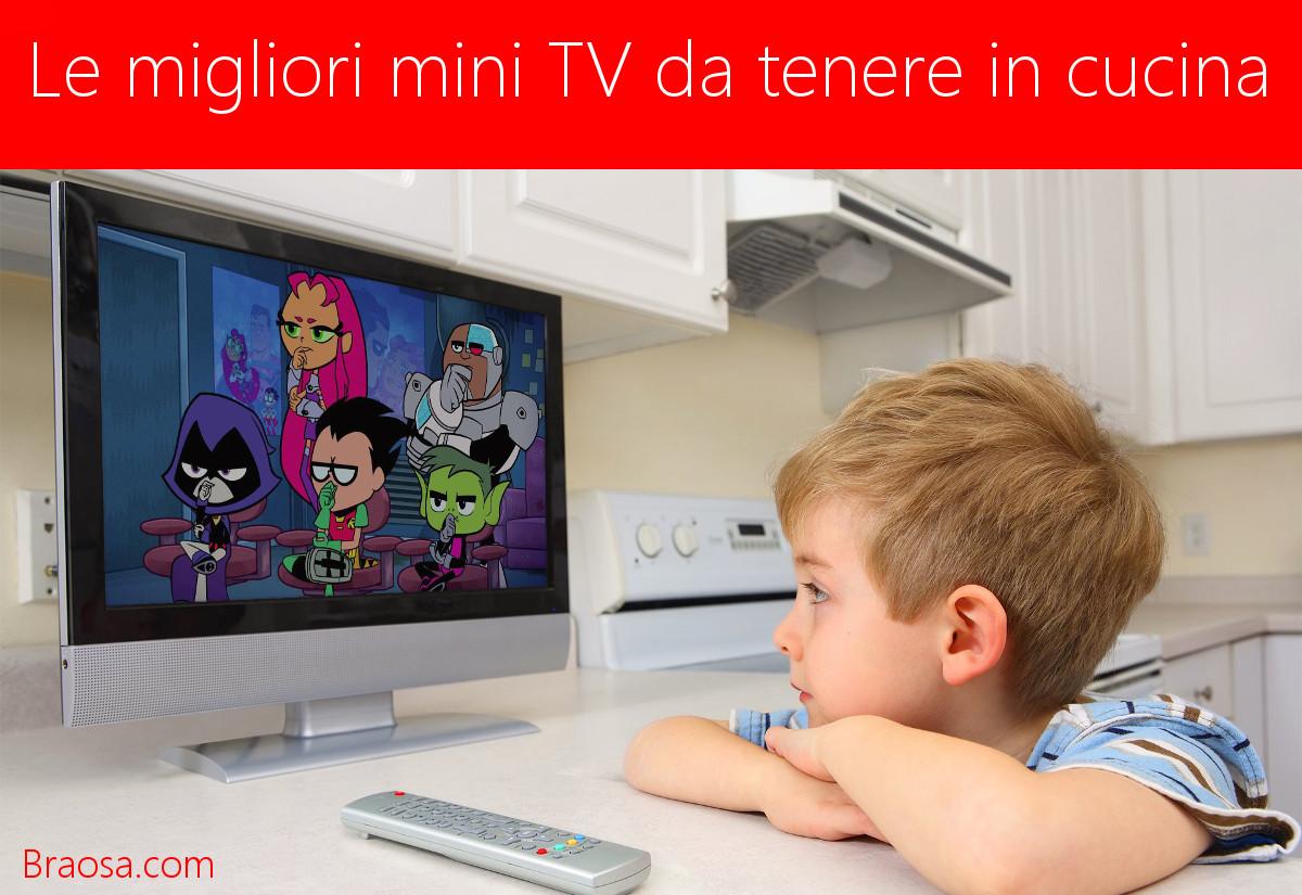 Televisioni piccole per la cucina