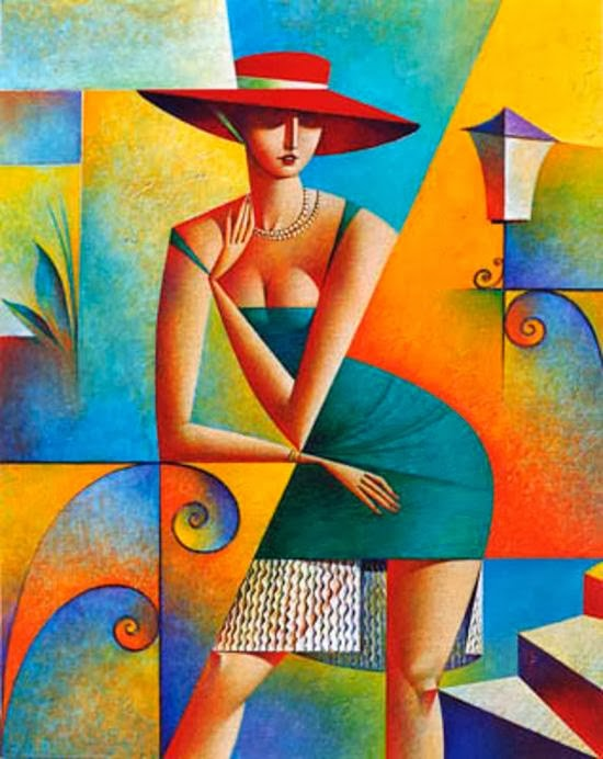 20 Mind Blowing and Beautiful Cubist Art Works By Georgy Kurasov
