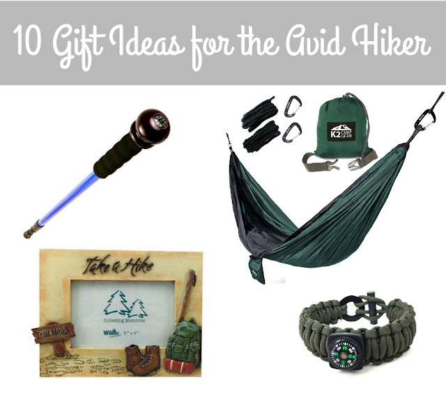 From survival gear to fun keepsakes to unique hiking accessories, you are sure to find the perfect gift for that outdoorsy person on your gift list with these 10 Gift Ideas for the Avid Hiker. #affiliate