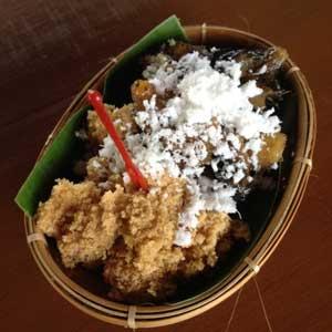 Nasi Tiwul Khas Gunng Kidul