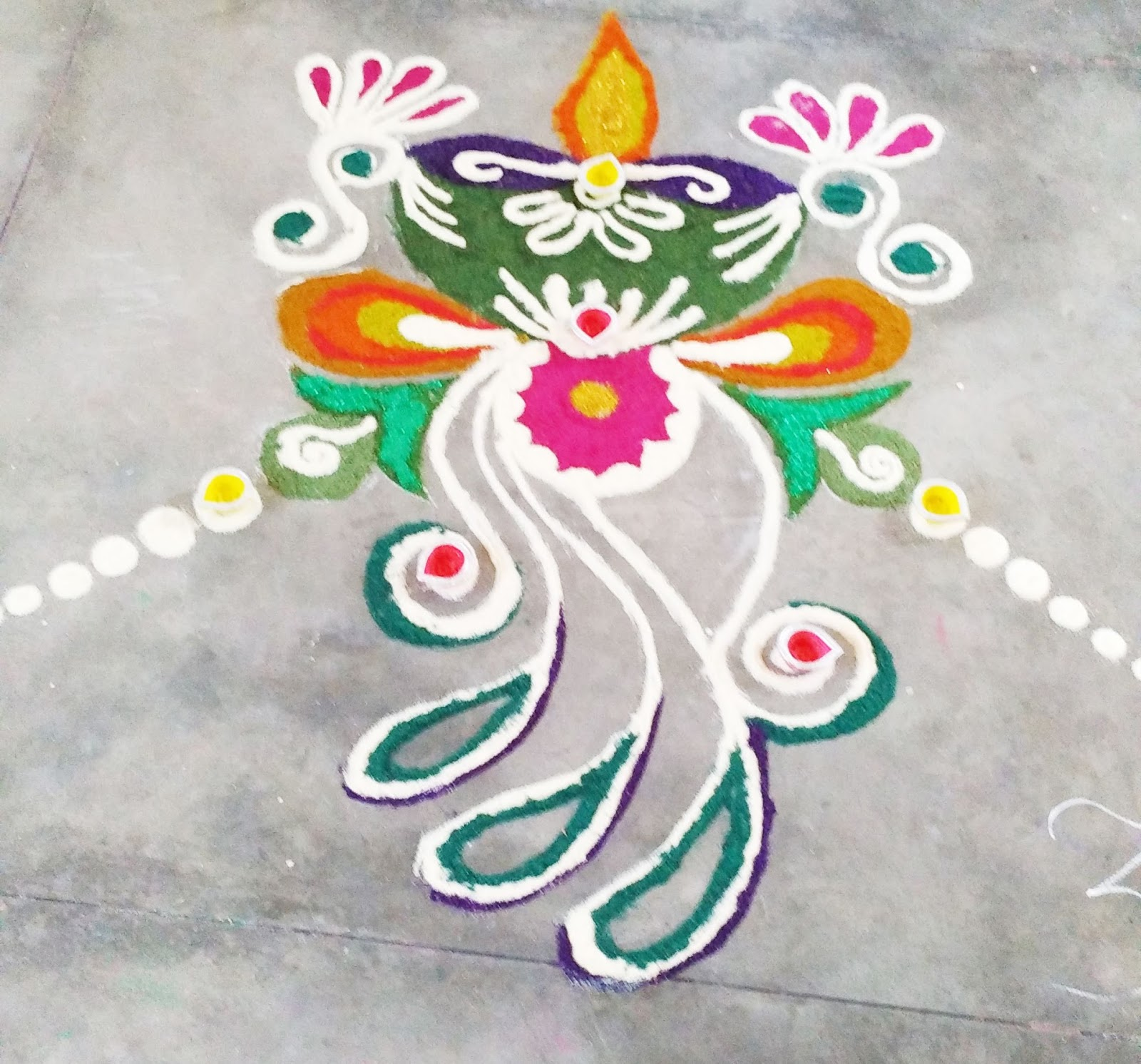 Colorful Home Rangoli Designs Ideas - Home Decorating Inspiration ...