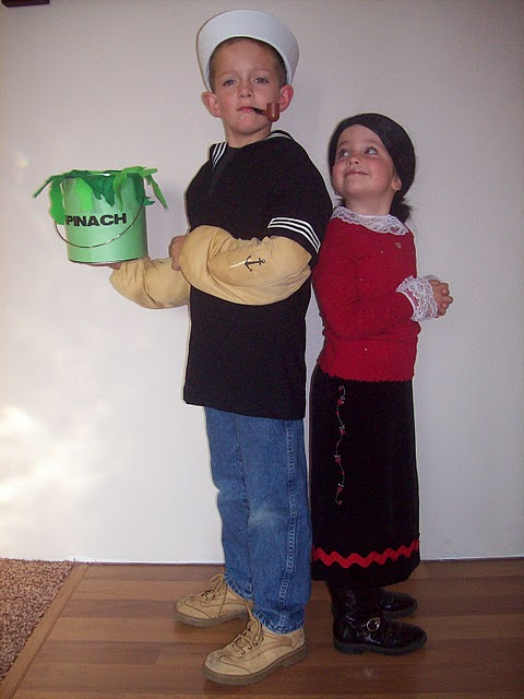 Diy Halloween Costume Popeye