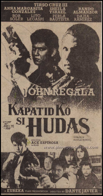 Kapatid Ko Si Hudas, movies, John Regala