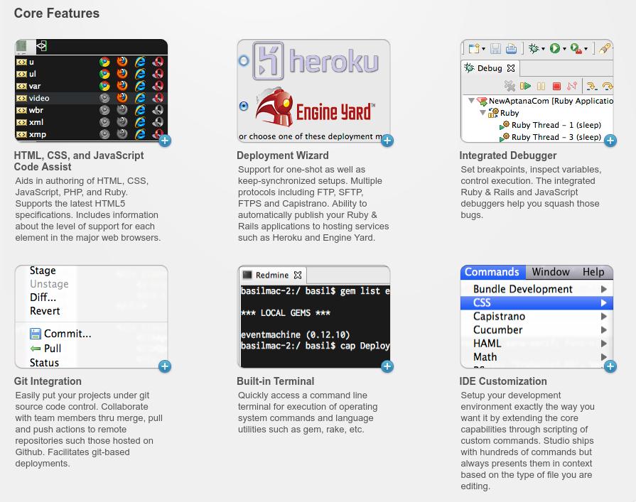 Linux dicas e suporte: Aptana Studio no seu GNU/Linux