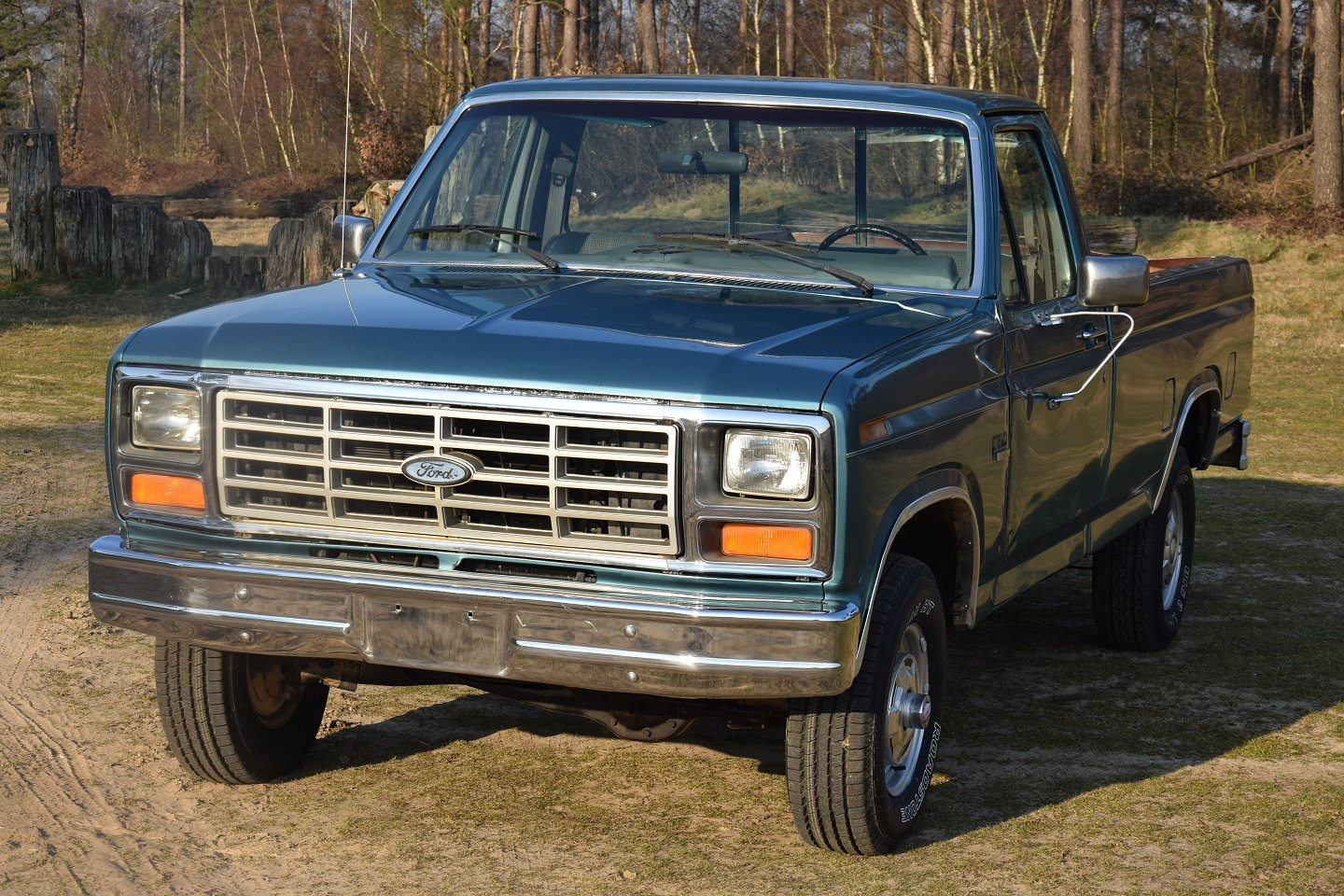1986 Ford F150 4x4 Pick Up V8 1982 Sales Brochure Stuurman 1964 F 150 These Models Are A Great Value For Money And They Drive Well So It Is Car To Collect Or You Can Just True Classic