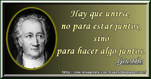 Goethe Unidad Actuar Mis Imágenes Con Frases