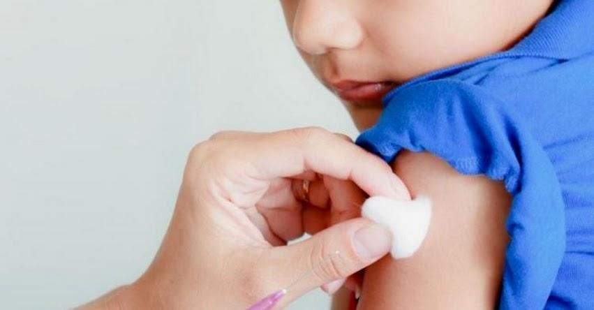 Padres solo tienen hoy y mañana para vacunar a sus niños, informó el MINSA